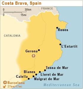Lloret del Mar - Costa Brava Maresme - Spania