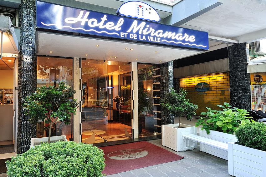 Hotel miramare et de la ville 3 rimini italia for Hotel milano economici